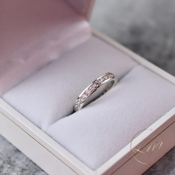Channel Set Wedding Ring
