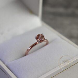 Gorgeous Two Tone Tourmaline Ring
